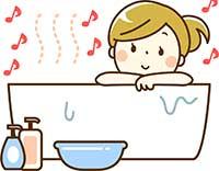 入浴しながら音楽だ!