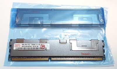 サーバー用Registeredメモリ DDR3-1333 PC3-10600R 8GB ヒートシンク付【中古】