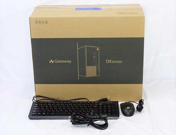 GATEWAY DX6785-N78J/GAの同梱品