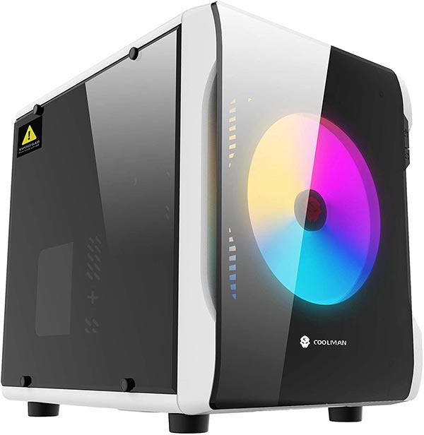 ice Micro-ATX Mini-ITX 対応PCケース キューブ型PCケース